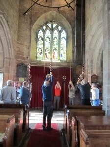 Croston church bell ringing