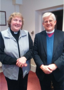 Reverend Janet is licensed as Associate Priest to our United Benefice