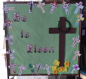 Childrens Easter Cross
